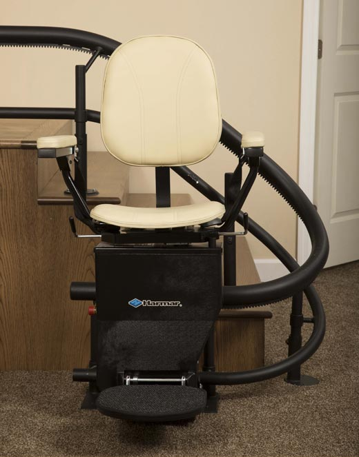 Take advantage of a Harmar stair lift in your home
